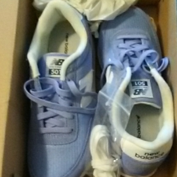 New Balance Shoes   Light Blue Sneakers